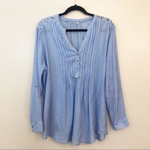 Anthropologie Hester and Orchard Blouse | Size L
